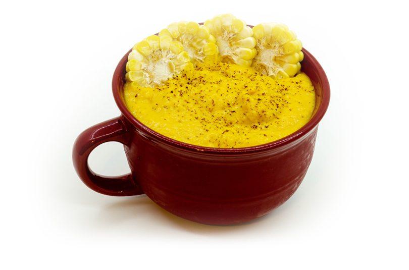 Supă cremă de porumb cu morcovi